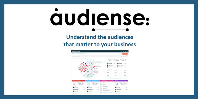 Audiense Technology Profiling audiences insights