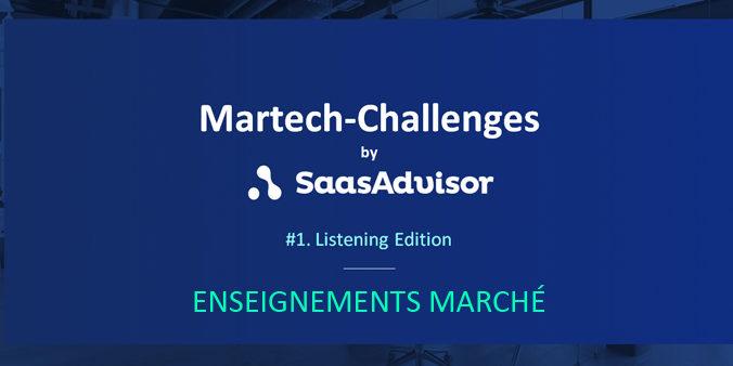 Martech Challenges enseignements