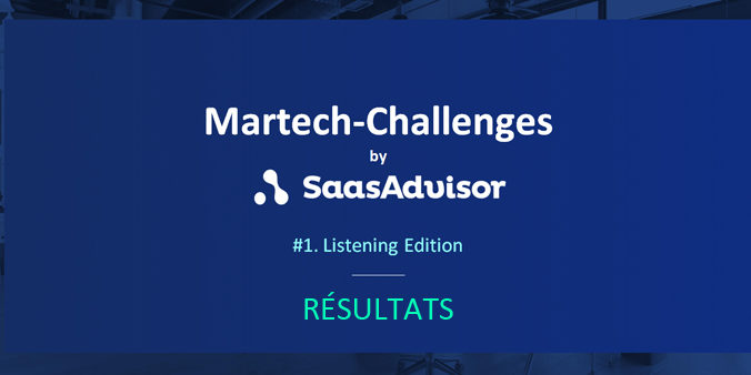 Martech Challenges Résultats vainqueur