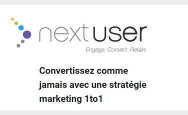 NextUser marketing technologie