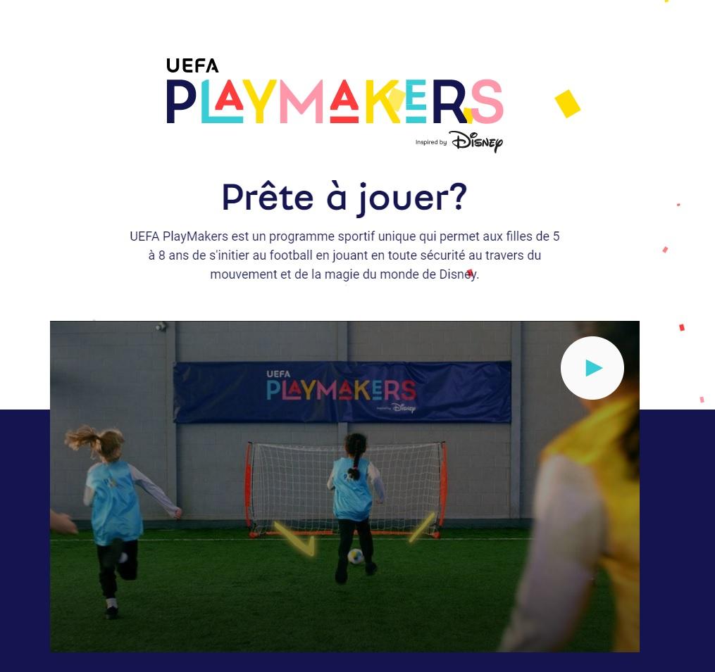 Hub innovation : opération UEFA & Disney